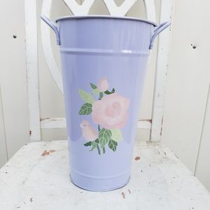 Other - Purple flower holder/ flower vase